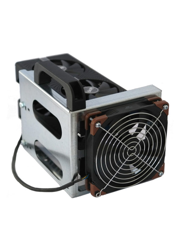Extender module with 14cm fan