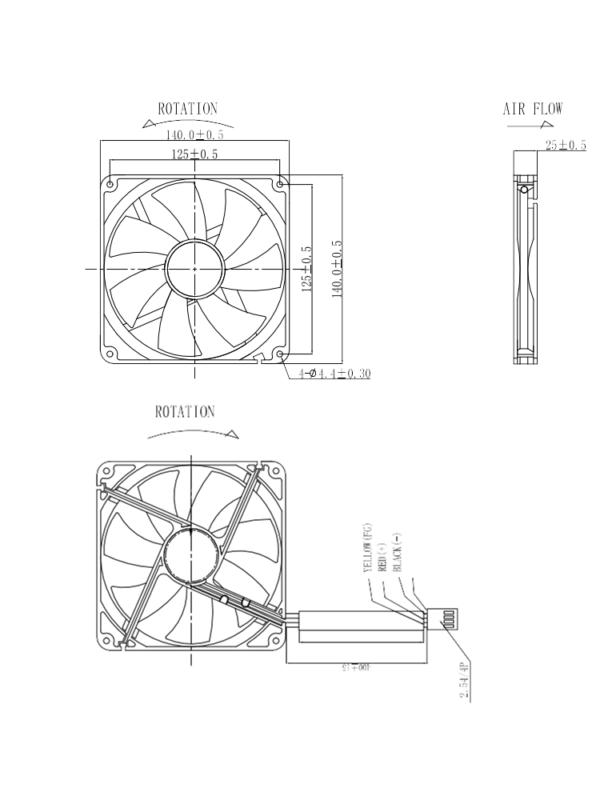 Fan 14 cm Datasheet