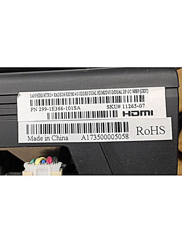 label rx580 4gb